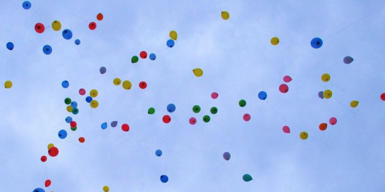 47% sprechen sich für Luftballonverbot aus