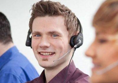 Telefoninterviewer