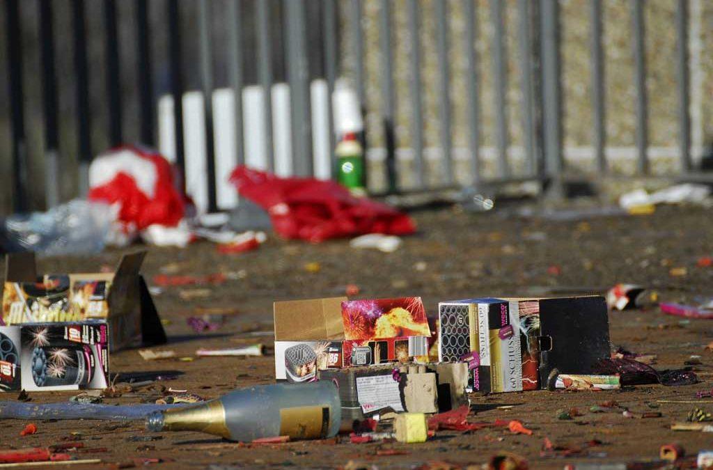62% befürworten Verbot von privatem Feuerwerk in deutschen Innenstädten
