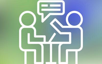 Projektleiter fragt Interviewer fragt Projektleiter